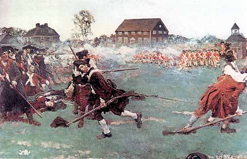 Lexington and Concord Battles