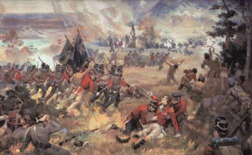 Battle of Queenston Heights  October 1812