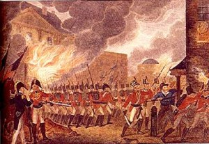 Unintended Consequences of War:   The British Burn Washington