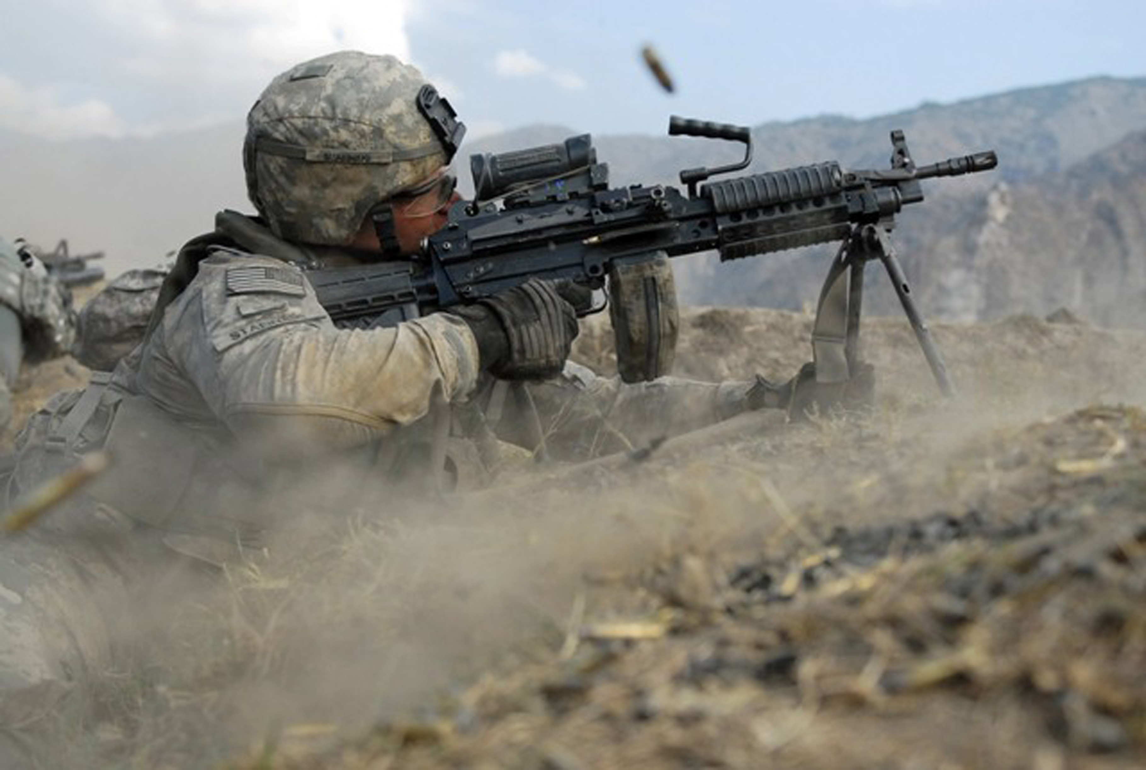 Combat in Afghanistan Picture