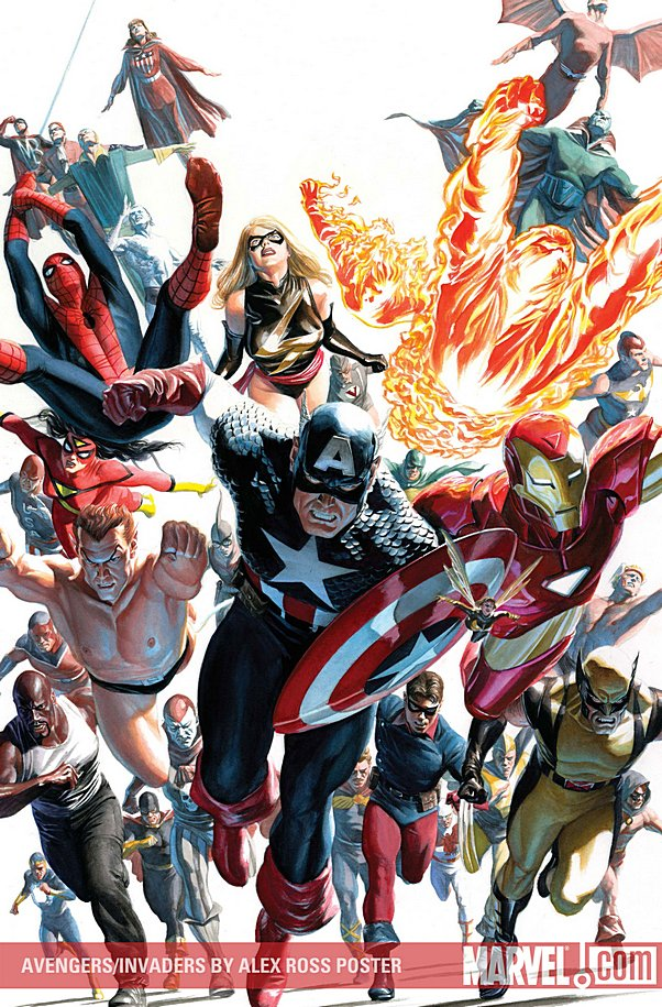 The avengers and the invaders 2009