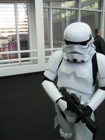 Star Wars StormTrooper at Emerald City Comicon