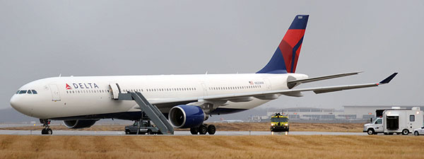 Northwest Airlines Flight 253 After Attempted Terrorist Attack