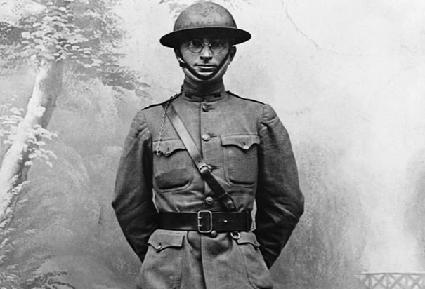 Captain Harry Truman in World War One