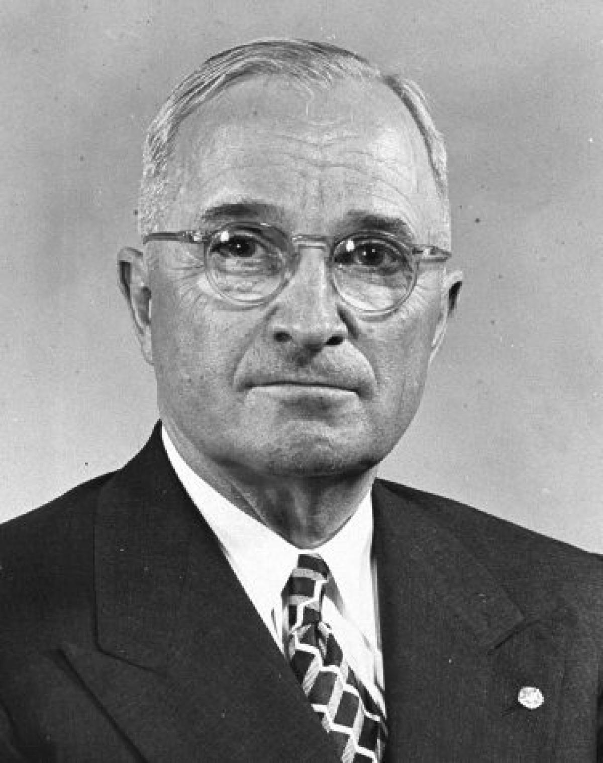 a history of harry s truman as a president of the untied states of america President harry s truman 33rd us president from 1945-1953  by white  house historical association, adapted by newsela staff  in office and on april  12, 1945, truman became the 33rd president of the united states.