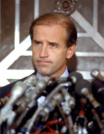 Joe Biden during the 1988 Presidential Campaign
