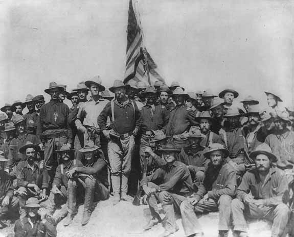 Teddy Roosevelt's Rough Riders