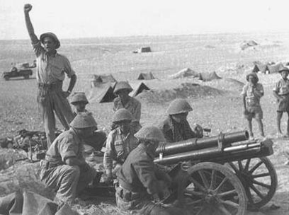 Israeli Soldiers of the Negev Battalion in the First Arab-Israeli War