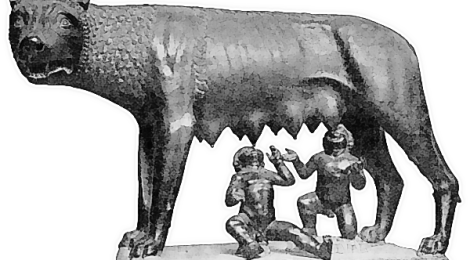 Romulus and Remus She-Wolf-Roman Myth
