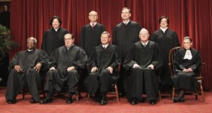 Members of the United States Supreme Court in 2013